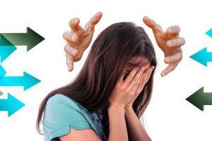 stress vrouw