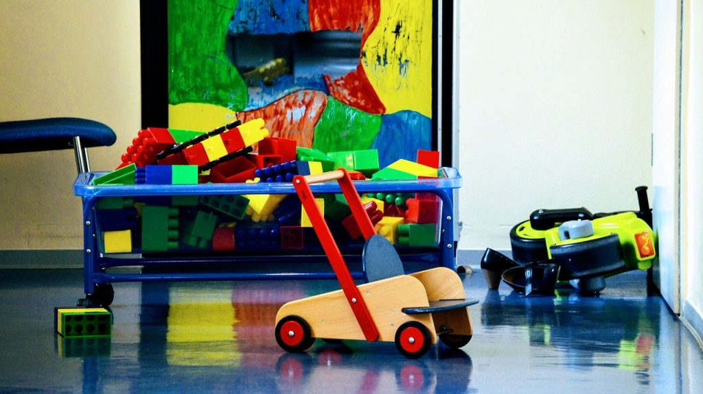 Activiteiten bij een kinderdagverblijf